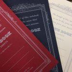 ダイソーで、いい感じのA6方眼糸綴じノートを発見!! (アピカ Premium C.D. NOTEBOOK 紳士なノート風?)