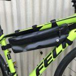 【レビュー】Rhinowalkというメーカーの自転車用防水フレームバッグを買ってみた