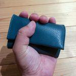 【レビュー】創作鞄槌井さんの「三つ折り財布」購入!