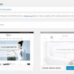WordPressのテーマ「cenote」に プラグイン「demo importer」でインポートすると「import failed」になった